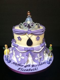 SOPHIA THE FIRST CAKE IDEAS | Sophia the First Cake | cakes/cupcakes