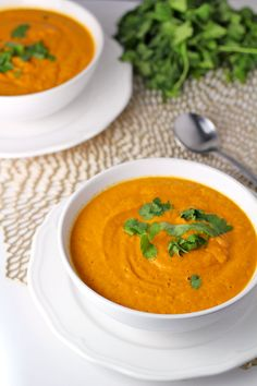 Spicy Roasted Carrot and Jalapeño Soup