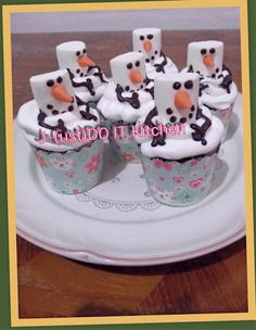 cup cake olaf