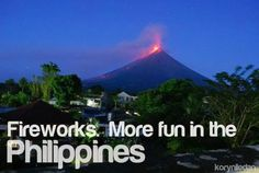 It's More Fun In The Philippines - More Posters Places To Travel, Places To Visit, Filipino, Fireworks, More Fun, Philippines, Tourism, Nostalgia, Jeep Grill