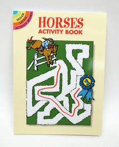 `Horses` A Dover Little  Activity Book