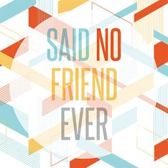 "Perhaps no other voices are as loud in a young person's life as those of their friends. In ""Said No Friend Ever,"" older kids will learn the importance of quality, God-focused friends. ""Said No Friend Ever"" teaches kids how to determine if they have good friends or bad ones, what to do if they have the wrong kind of friends, and how to be good friends themselves. This three-week series for junior high and high school kids contains messages, promo videos, and supporting content."