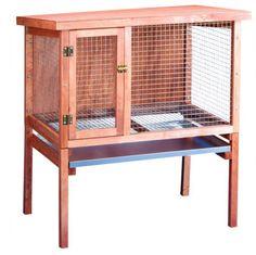 Found it at Wayfair - Small Rabbit Hutch Indoor Rabbit Cage, Outdoor Rabbit Hutch, Rabbit Cages, Silver Fox Rabbit, Diy Bunny Cage, Rabbit Farm, Josie Loves, Chicken Cages, Chicken Houses