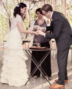 This Cocktail Making Unity Ceremony give tradition a fun modern twist. - MODwedding Presents: 15 Most Unique and Inspiring Wedding Ideas of 2013. To see more: http://www.modwedding.com/2013/12/21/most-inspiring-unique-wedding-ideas-of-2013/