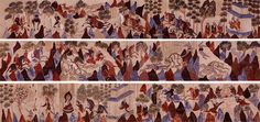 Mahasattva Jataka, Northern Zhou, 557-581, Mural. Cave 428, Mogao Grottoes