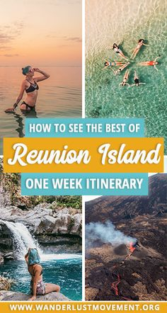 Island Itinerary: How to See the Best of Reunion Island in One Week Looking for the ULTIMATE Reunion Island Itinerary? I've got you covered. Fly over a lava-spewing volcano, eat your weight in Creole food and SO much more! Travel Alone, New Travel, Travel Guides, Travel Tips, Travel Goals, Travel Packing, Disneyland, Top Travel Destinations, Africa Travel