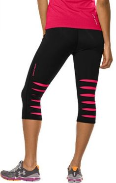 Under Armour Slash Capris!!! FINALLY found these @ Foot Locker- they were Sold Out everywhere else! Stoked for them to arrive :)  http://www.footlocker.com/product/model:171157/sku:0008-003/under-armour-slash-capri-womens/black/pink/?cm=%3A%20QUICK%20VIEW%3A%20MORE%20INFO#sku=0008-003=M