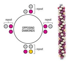 Opposing Diamonds