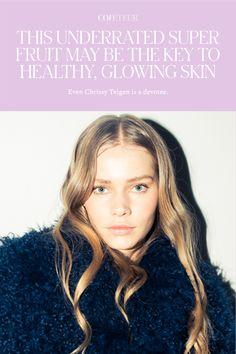 Even Chrissy Teigen is a devotee. Glossy Eyes, Face Oil, Wet Hair, Blow Dry, About Hair, Organic Beauty, Glowing Skin, Hair Loss, Beauty Tricks