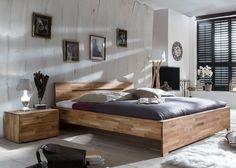 Massivholzbett Sava Wildeiche 10583. Buy now at https://www.moebel-wohnbar.de/massivholzbett-sava-wildeiche-10583.html