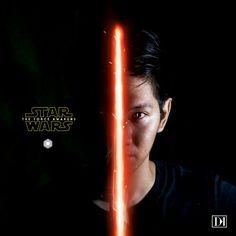"By: Dave Kosasih  Star Wars ""The Force Awakens"""