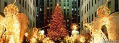Christmas at Rockefeller Center Facebook Covers - myFBCovers