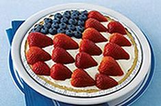 American Berry No-Bake Cheesecake recipe  #KraftRecipes