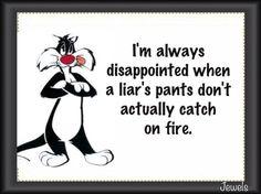Liar, Liar...
