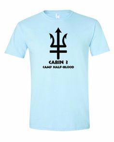 451d9b437d10a4 Men s Cabin 3 Camp Half Blood T-Shirt-Light Blue-Large