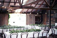 THE FARM CAFE // Melbourne, VIC // via #WedShed  http://www.wedshed.com.au/wedding_venues/farm-cafe-collingwood-childrens-farm/