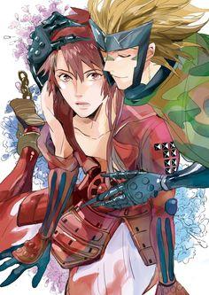 Tags: Sengoku Basara, Sanada Yukimura (Sengoku Basara), Capcom, Pixiv, Sarutobi Sasuke, Rona (Pixiv 388805)