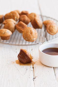 Mini Banana-Maple Pancake Muffins