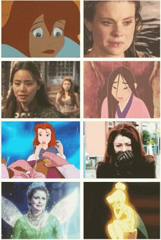 All the Disney/Once Upon A Time Princesses overcoming impossible obstacles, side-by-side: 21 Tumblr Once Upon A Time Posts
