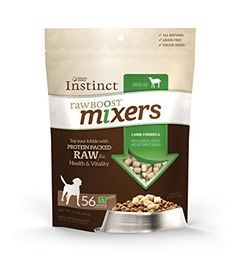 Nature's Variety Instinct Raw Boost Mixer Lamb Formula Freeze Dried Meal Topper for Dogs, 14 oz. Bag * Read more reviews of the product by visiting the link on the image.
