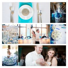 Blue & Turquoise Wedding: Florian Gardens: Sawyer Creek Photography