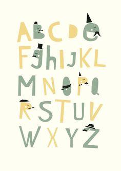 Alphabet                                               by Studio Meez