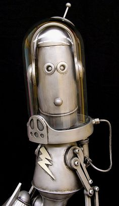 DAVE the Robot – Lawrence Northey - Custom Toy Lab – Custom Designer Vinyl Toys, Paper Toys & Plush Toys