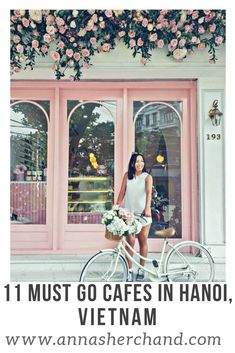 If you are looking for some of the best cafes in Hanoi, Vietnam. Vietnam ex Vietnam Travel Guide, Asia Travel, Travel Tips, Travel Ideas, Travel Books, Slow Travel, Croatia Travel, Hawaii Travel, Budget Travel