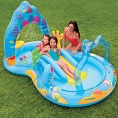 nafukovací bazénové hrací centrum Mořská panna
