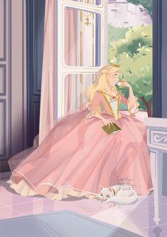 Pretty Art, Cute Art, Barbie Drawing, Princess And The Pauper, Poses References, Barbie Movies, Princess Aesthetic, Disney Wallpaper, Anime Art Girl