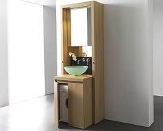 meuble bain B1 | compact kitchens | mini cuisine | kitchenette | bespoke award-winning design | kitchoo