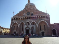Iglesia de san antonio, padua, italia