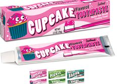 Flavored Toothpaste, Bacon Cupcakes, Tooth Paste, How To Make Frosting, Cupcake Flavors, New Flavour, Inner Child, Sweet Girls, Creme