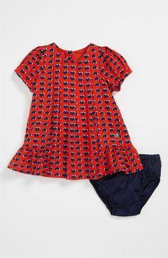 LITTLE MARC JACOBS Heart Print Dress