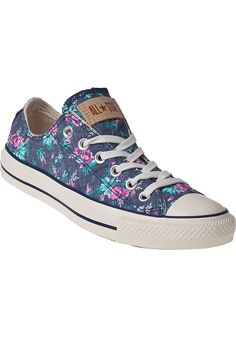 Converse Womens - Chuck Taylor All Star Sneakers Floral Denim