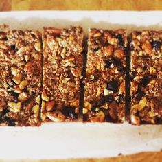 Oat Bars, Energy Snacks, Cereal, Food And Drink, Low Carb, Cooking Recipes, Cookies, Breakfast, Sweet