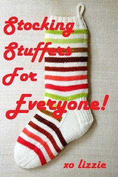 list of Christmas stocking stuffers