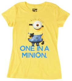 Despicable Me One In A Minion T-Shirt Yellow XLarge Despicable Me 2,http://www.amazon.com/dp/B00G1BN7O8/ref=cm_sw_r_pi_dp_NqTutb05YTSCJRGY