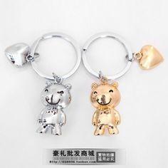 wholesale dropship Cute Bear Christmas Gift Key Chain $6.68