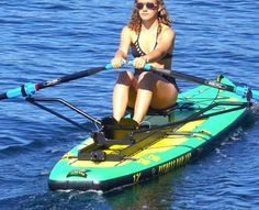 Fun in the sun on my personal gym. I love rowing! Rowing Workout, Gym Workouts, Rowing Scull, Personal Gym, Rowing Machines, Standup Paddle Board, Kayak Fishing, Water Crafts, Paddle Boarding