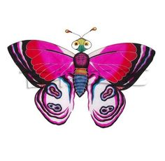 love this butterfly art