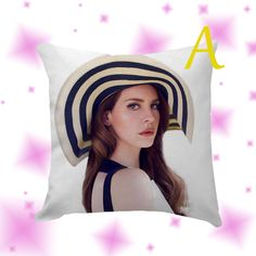Lana Del Rey Pillow Cover Case by Globbie on Etsy