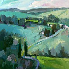 "Richard Claremont ""Remembered Landscape Near Bathurst"""