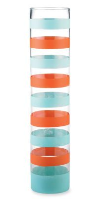 Striped Glass Cylinder how to