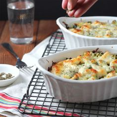 Say hello to this Chicken and Broccoli Baked Rice Hong Kong style. Perfect to make for dinner for two!