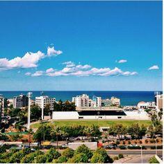 LEBANON, Nothing but blue skies in Beirut.