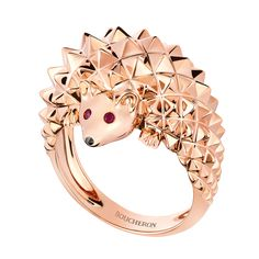 Hans, the hedgehog ring, a Maison Boucheron Jewelry creation. A Boucheron creation tells a Story, that of the Maison and your own.
