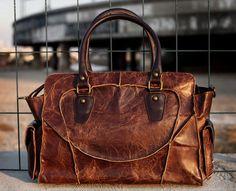 Vintage Handmade Antique Cow Leather Women's Handbag / Purse / Shoulder Bag / Messenger Bag from Neo Vintage Leather Bags Handmade Handbags, Leather Bags Handmade, Cow Leather, Vintage Leather, Distressed Leather, Black Leather, Leather Satchel, Leather Handbags, Brown Handbags