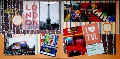 Cook Scrap Craft: Day 1: London Calling Scrapbook Page