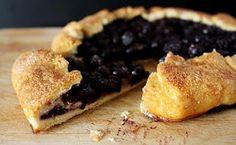 Let's Feast: Blueberry Crostata